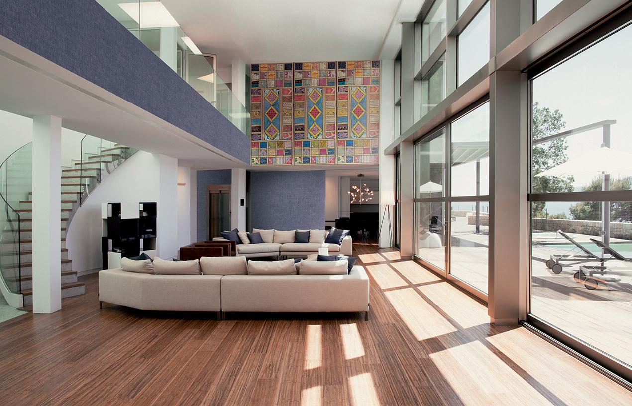 Décoration intérieure par l'entreprise de peinture et décoration Carlo Knaff