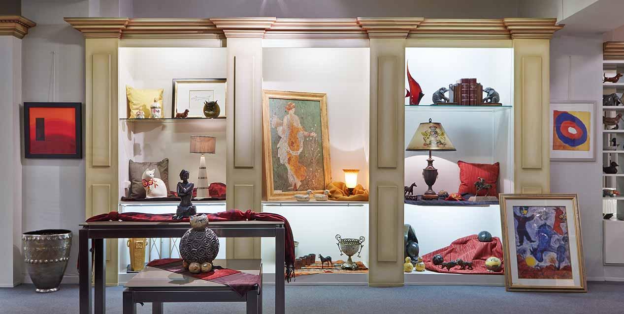 Le magasin de décoration Carlo Knaff à Redange